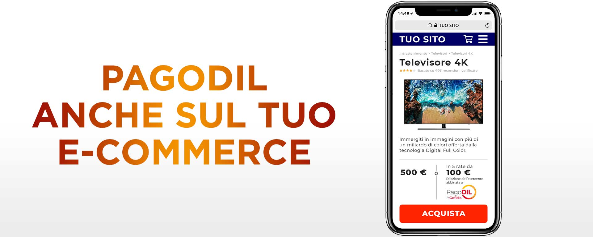 PagoDIL by Cofidis per e-commerce - Intro